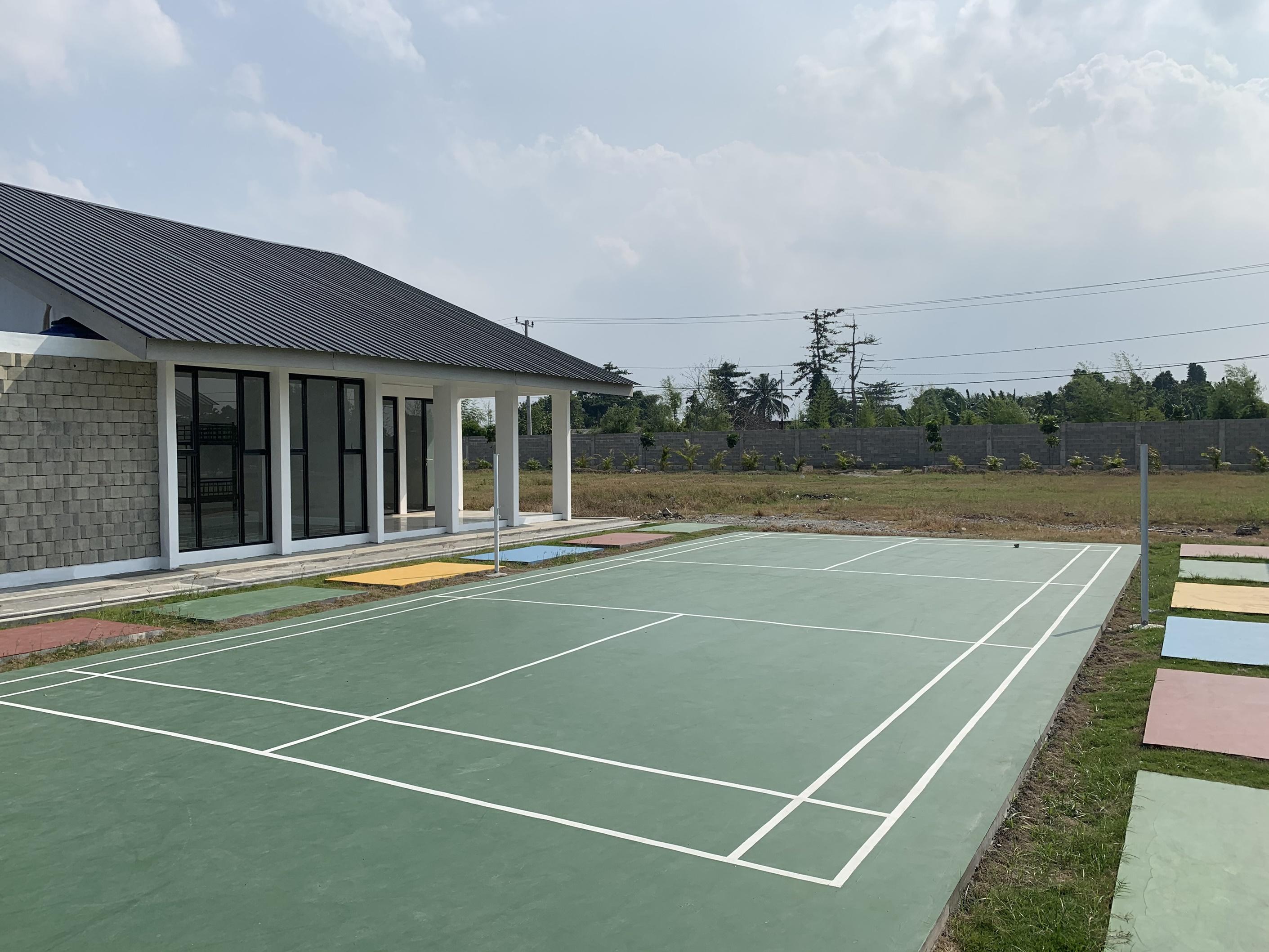 Lapangan Badminton Al-Azhar Asy-Syarif Sumatera Utara