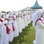 pengiring drum band hut ri ke 75 al-azhar asy-syarif sumatera utara-2