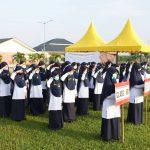 peserta upacara bendera hut ri me 75 al-azhar asy-syarif sumatera utara-2
