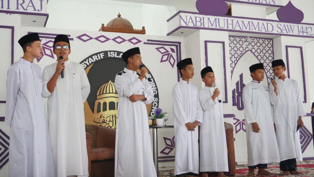 peringatan isra miraj nabi muhammad saw 1442 h alazhar asy syarif sumatera utara