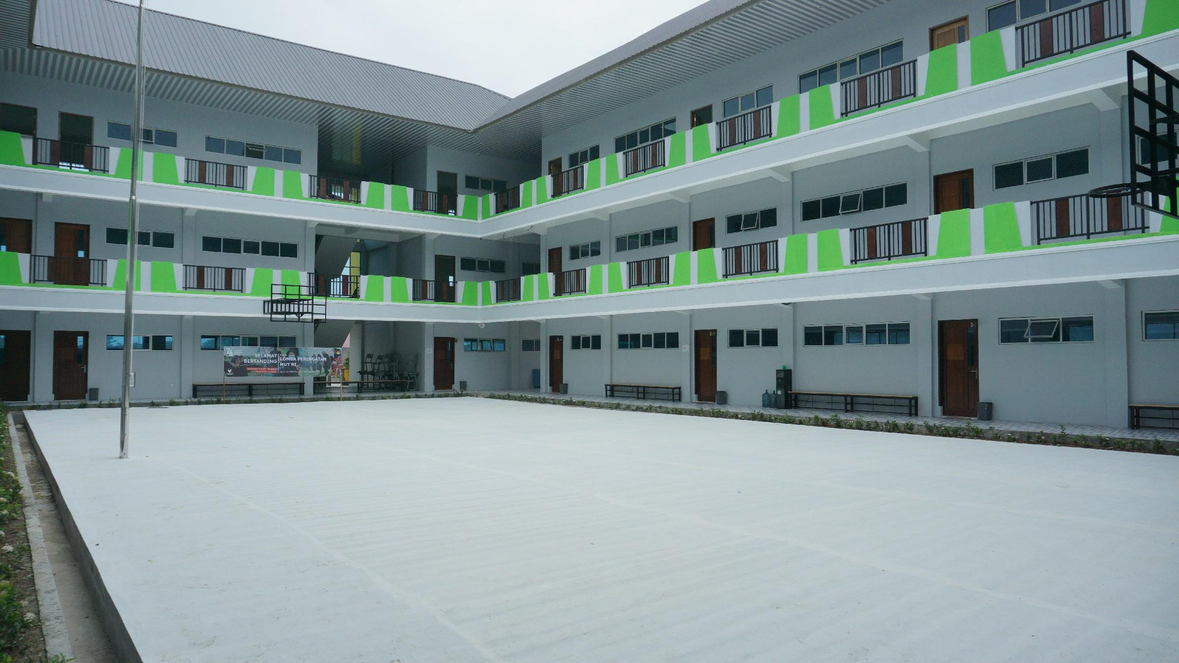 Gedung Sekolah Akhwat